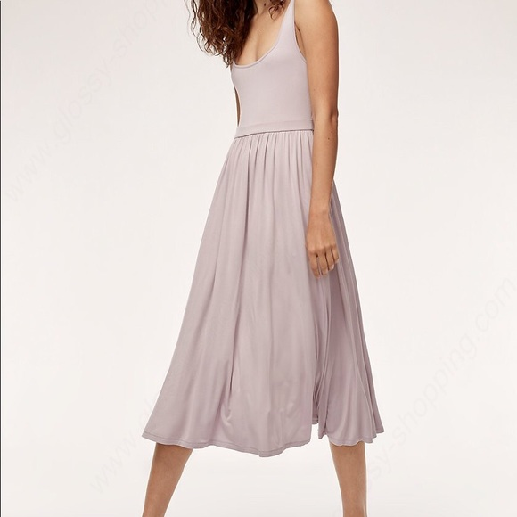 Wilfred Dresses & Skirts - Wilfred Lavender Midi Dress with Pockets